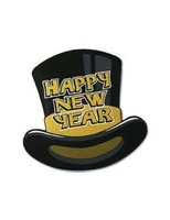 New Years Decorations Gold Topper Cutout  Image