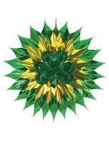 St. Patrick's Day Decorations Shamrock Fan Burst Image