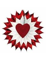 Valentine's Day Decorations Heart Fan-Burst Image