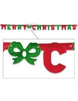 Christmas Decorations Foil Merry Christmas Streamer Image