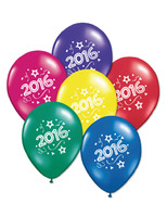 New Years Balloons 2016 Multicolor Balloons Image