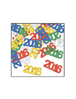 New Years Decorations 2016 Metallic Confetti Image