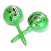 Cinco de Mayo Favors & Prizes Lime Green Maracas Image