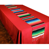 Cinco de Mayo Table Accessories Woven Serape Table Runner Image