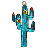 Fiesta Decorations Sagauro Cactus Tin Ornament Image