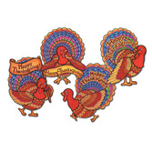 Thanksgiving Decorations Happy Thanksgiving Turkey Cutout Image