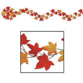 Thanksgiving Decorations Autumn Leaf Garland Image