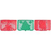 Christmas Decorations Feliz Navidad Papel Picado Banner Image