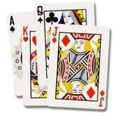 "Casino Decorations 25"" Playing Card Cutout Image"
