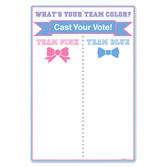 Baby Shower Decorations Gender Reveal Tally Board Image