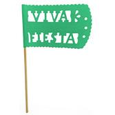 Cinco de Mayo Decorations Green Fiesta Flag Image