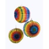 Cinco de Mayo Decorations Rainbow Paper Lantern Set Image