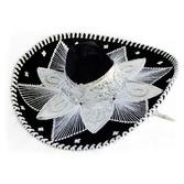 Cinco de Mayo Hats & Headwear Black and White Mariachi Sombrero Image
