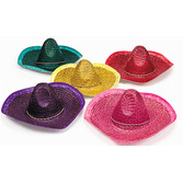 Cinco de Mayo Hats & Headwear Adult Solid Color Sombrero Image