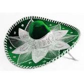 Cinco de Mayo Hats & Headwear Green and White Mariachi Sombrero Image