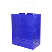 Gift Bags & Paper Medium Gift Bag Blue Image