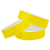 WB Tyvek Wristbands Yellow Image