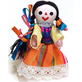 Cinco de Mayo Decorations Small Indita Doll Image