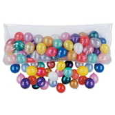 New Years Balloons Plastic Balloon Bag (Bag Only) Image