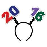 New Years Hats & Headwear 2016 Head Bopper Image