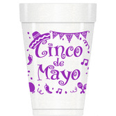 Cinco de Mayo Table Accessories Cinco De Mayo Styrofoam Cups Image