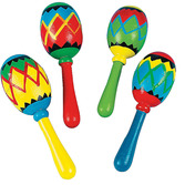 Cinco de Mayo Favors & Prizes Mini Latin Maraca Image