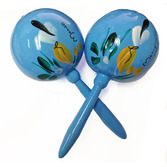 Cinco de Mayo Favors & Prizes Powder Blue Maracas Image
