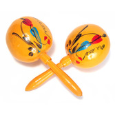 Cinco de Mayo Favors & Prizes Yellow Maracas Image
