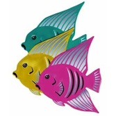 Luau Decorations Angelfish Cutout Image