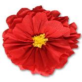 Cinco de Mayo Decorations Rachel's Red Flower Image