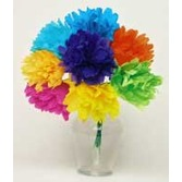 "Cinco de Mayo Decorations Chayo's Flowers (4"")  8 per bunch Image"