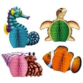 Luau Decorations Sea Creatures Playmates Image