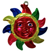Cinco de Mayo Decorations Sun Tin Ornament Image