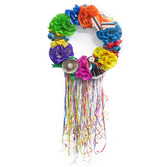 Fiesta Decorations Decorative Flower Wreath Image