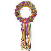 Fiesta Decorations Terecita Flower Wreath Image