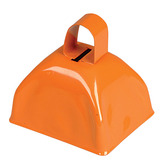 Western Favors & Prizes Orange Metal Cow Bell Image