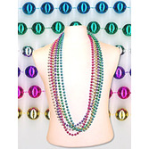 "Cinco de Mayo Party Wear 72"" Metallic Bead Necklace Image"