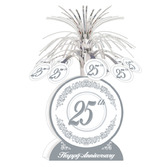 Anniversary Decorations 25th Anniversary Centerpiece Image