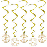 Anniversary Decorations 50th Anniversary Whirls Image
