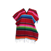 Cinco de Mayo Decorations Small Serape Poncho Image