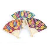 Luau Favors & Prizes Hibiscus Folding Fans Image