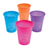 Day of the Dead Table Accessories Day of the Dead Plastic Cups Image