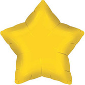 New Years Balloons Gold Star Mylar Balloon Image