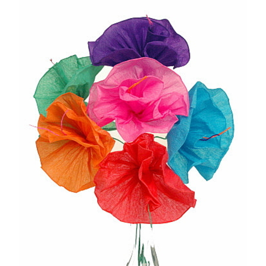 Cinco de Mayo Decorations Monica's Flowers (6 per bunch) Image