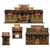 Western Decorations Wild West Town Props Image