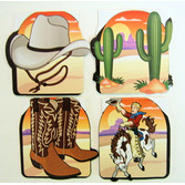 Western Favors & Prizes Cowboy Notepads Image