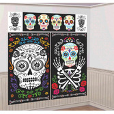 Day of the Dead Decorations DOD Scene Setter Kit Image