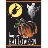 Halloween Gift Bags & Paper Ghostly Halloween Treat Bags Image