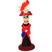 Day of the Dead Decorations Glittered Catrina Figurine Image