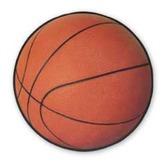 Sports Decorations Basketball Cutout Image